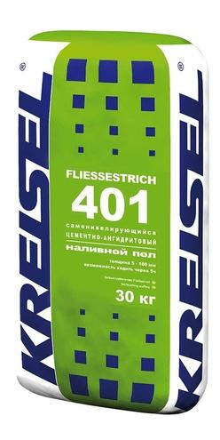 Самонивелирующийся цементно-ангидритовый наливной пол FLIESSESTRICH 401 Kreisel